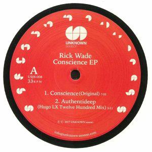 WADE, Rick - Conscience EP