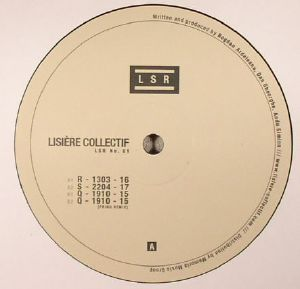 LISIERE COLLECTIF - LSR No 01