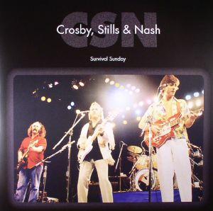 CROSBY STILLS & NASH - Survival Sunday