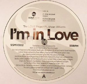LOVE PROJECT, The feat SHEAN WILLIAMS - I'm In Love