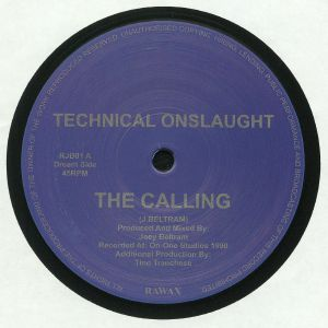 TECHNICAL ONSLAUGHT aka JOEY BELTRAM - The Calling (reissue)