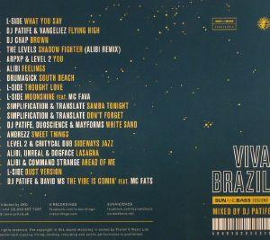 DJ PATIFE/VARIOUS - Viva Brazil: Sunandbass Sessions
