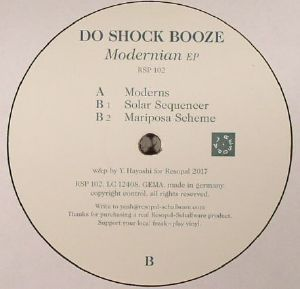 DO SHOCK BOOZE - Modernian EP