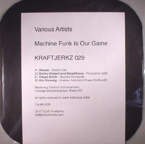 ALONZO/DMITRY DISTANT/STARPLIKTUVE/CHASE SMITH/KID GINSENG - Machine Funk Is Our Game