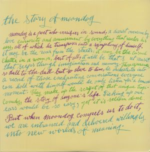 MOONDOG - The Story Of Moondog (reissue)