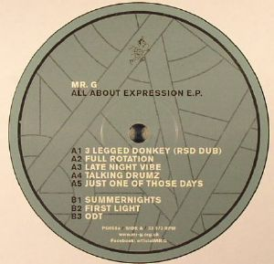 MR G - All About Expression EP