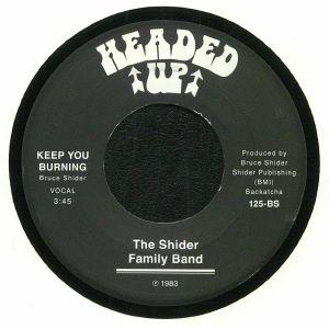 SHIDER FAMILY BAND, The - Keep You Burning