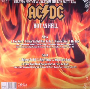 AC/DC - Hot As Hell: Broadcasting Live 1977-79