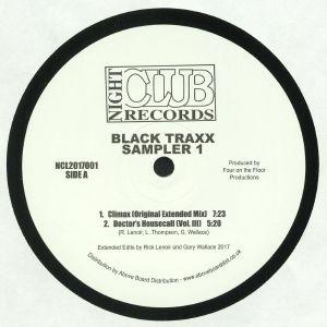 BLACK TRAXX - Sampler 1 (reissue)