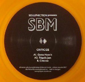 SOULPHICTION presents SBM - Criticize