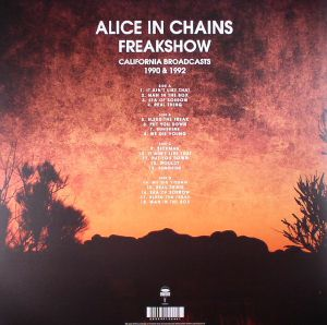 ALICE IN CHAINS - Freakshow: California Broadcasts 1990 & 1992