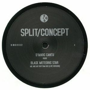 D'MARC CANTU/BLACK METEORIC STAR - Split/Concept