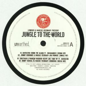 NAVIGATOR/JOHNNY OSBOURNE/MARCUS VISIONARY/SOULTRAIN/PHANTOM WARRIOR/BUNNY GENERAL - Liondub & Marcus Visionary Present: Jungle To The World