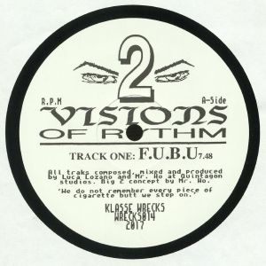 LOZANO, Luca/MR HO - Visions Of Rhythm 2