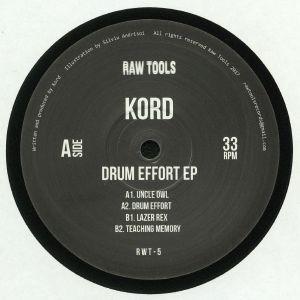 KORD - Drum Effort EP