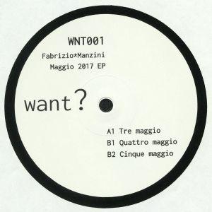 MANZINI, Fabrizio - Maggio 2017 EP
