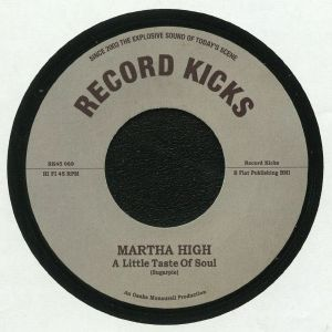 HIGH, Martha - A Little Taste Of Soul