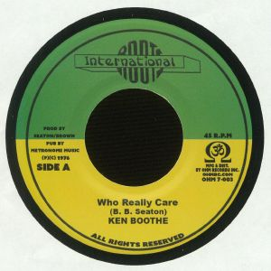 BOOTHE, Ken/CONSCIOUS MIND - Who Really Care