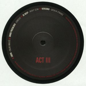 ZADIG/SAVAS PASCALIDIS/DJ DEEP/VERSIONS - Act III