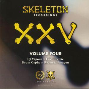 DJ VAPOUR/ERIC ELECTRIC/DRUM CYPHA/RECON/PARAGON - Skeleton Recordings XXV Project Volume Four