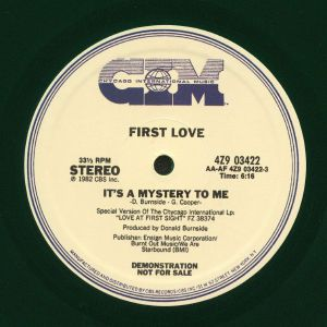 FIRST LOVE - It's A Mystery To Me
