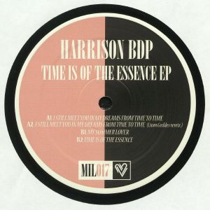 HARRISON BDP - Time Is Of The Essence EP