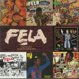 KUTI, Fela - Vinyl Box Set 4: Compiled By Erykah Badu