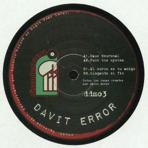 DAVIT ERROR - DDM 03