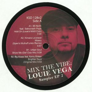 95 NORTH/KIMARA LOVELACE/URBAN SOUL/BIG MOSES - Mix The Vibe: Louie Vega: Sampler EP 2