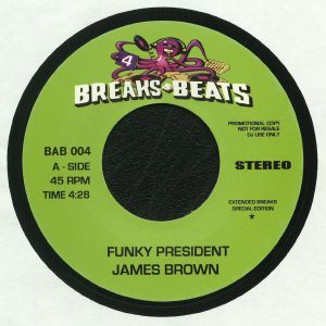 BROWN, James/THE VIBRETTES - Funky President (reissue)