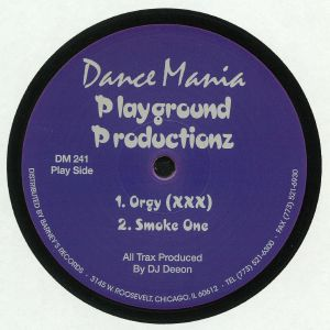 PLAYGROUND PRODUCTIONZ - Orgy (reissue)