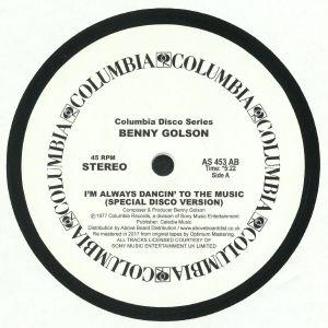 GOLSON, Benny - I'm Always Dancin' To The Music (reissue)