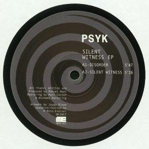 PSYK - Silent Witness EP