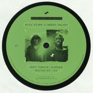 RIVA STARR/GREEN VELVET - Keep Pushin' (Harder)