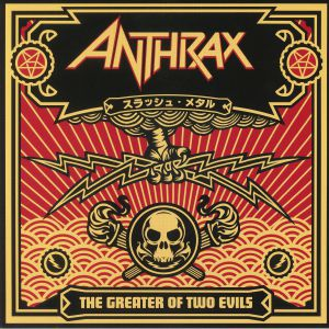 ANTHRAX - The Greater Of Two Evils (reissue)