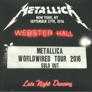 METALLICA - Live At Webster Hall New York NY September 27th 2016