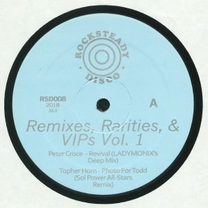 CROCE, Peter/TOPHER HORN - Remixes Rarities & VIPs Vol 1