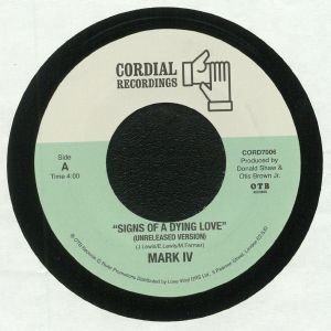 MARK IV - Signs Of A Dying Love