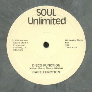RARE FUNCTION - Disco Function (reissue)