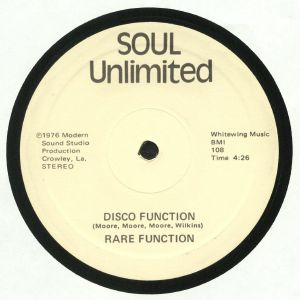 RARE FUNCTION - Disco Function (reissue)