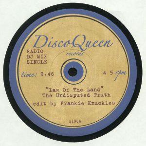 UNDISPUTED TRUTH, The/MFSB - Frankie Knuckle Edits: Disco Queen #2186