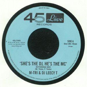 M TRI & DJ LEECY T - She's The DJ, He's The MC