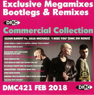 VARIOUS - DMC Commercial Collection February 2018: Exclusive Megamixes Bootlegs & Remixes (Strictly DJ Only)