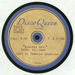 WILLIAMS, Lenny/CHAKA KHAN - Frankie Knuckles Edits: Disco Queen #5401