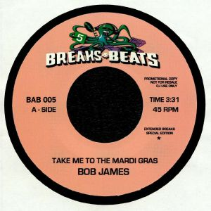 JAMES, Bob/DAVID MATTHEWS - Take Me To The Mardi Gras