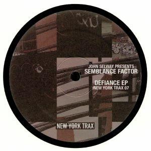 SELWAY, John presents SEMBLANCE FACTOR - Defiance EP