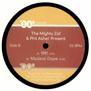 The Mighty Zaf Phil Asher Free X Beat Vinyl At Juno Records