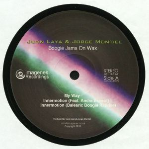 LAYA, Juan/JORGE MONTIEL - Boogie Jams On Wax