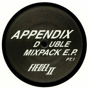 NONCOMPLIANT/ESPEN LAURITZEN/JAY CLARKE/MODE 1/AUSGANG/FIEDEL/RON ALBRECHT/PHILIPPE PETIT - Appendix Double Mixpack EP