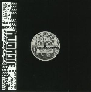 ARPEGGIO, Alexander - Streng Geheim EP